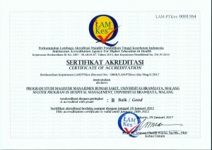 sertifikat akreditasi mmrs fkub (2017-2022)